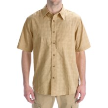 Royal Robbins Austin CoolMax® Shirt - Short Sleeve (For Men) in Straw - Closeouts