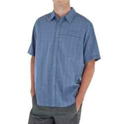 Royal Robbins Austin Cotton Plaid Shirt - Short Sleeve (For Men) in Wheat
