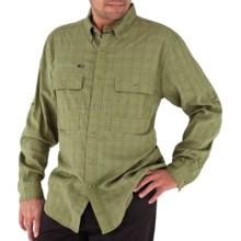 Royal Robbins Austin Pass Plaid Shirt - Long Sleeve (For Men) in Aloe - Closeouts