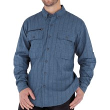 Royal Robbins Austin Pass Plaid Shirt - Long Sleeve (For Men) in Eclipse - Closeouts