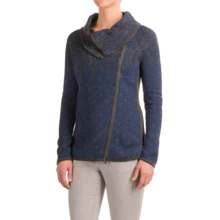 Royal Robbins Autumn Pine Cardigan Sweater - Zip Front (For Women) in Pewter - Closeouts