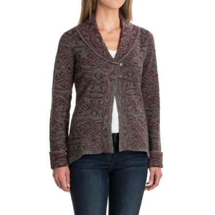 Royal Robbins Autumn Rose Cardigan Sweater - Button Front (For Women) in Beet - Closeouts