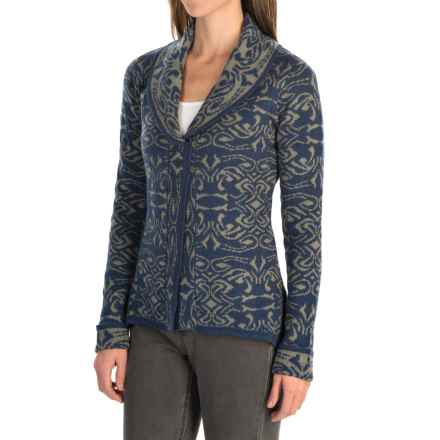 Royal Robbins Autumn Rose Cardigan Sweater - Button Front (For Women) in Pewter - Closeouts