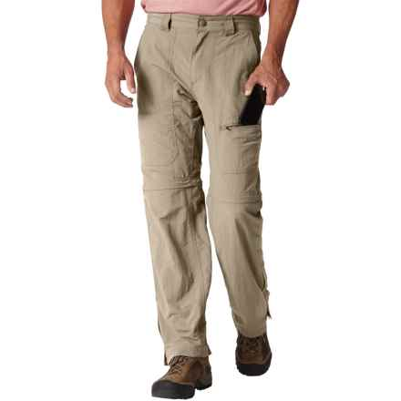 Royal Robbins Backcountry Convertible Pants - UPF 50+ (For Men) in Khaki - Closeouts