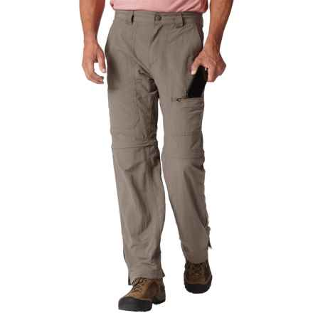 Royal Robbins Backcountry Convertible Pants - UPF 50+ (For Men) in Taupe - Closeouts