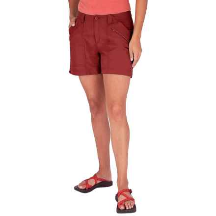 Royal Robbins Backcountry Shorts - UPF 50+ (For Women) in Pimento - Closeouts