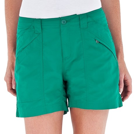 Royal Robbins Backcountry Shorts - UPF 50+ (For Women) in Woodland Fern