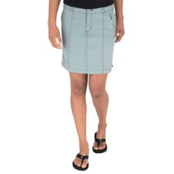 Royal Robbins Backcountry Skirt - Supplex® Nylon, UPF 50+ (For Women) in Light Slate