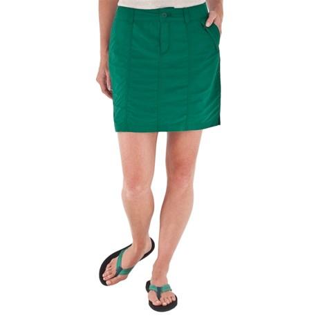 Royal Robbins Backcountry Skirt - Supplex® Nylon, UPF 50+ (For Women) in Woodland Fern