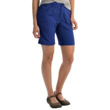"Royal Robbins Backcountry Walker Shorts - UPF 50+, Supplex® Nylon, 8"" (For Women) in Night Sky - Closeouts"