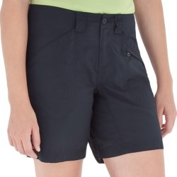 Royal Robbins Backcountry Walker Shorts - UPF 50+, Supplex® Nylon (For Women) in Dark Crimson