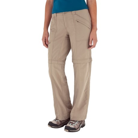 Royal Robbins Backcountry Zip 'N Go Convertible Pants - UPF 50+ (For Women) in Jet Black