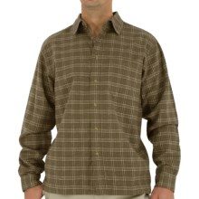 Royal Robbins Banks Island Plaid Shirt - UPF 50+, Long Sleeve (For Men) in Oregano - Closeouts