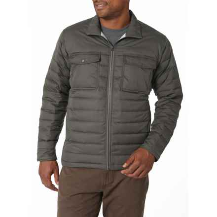 Royal Robbins Batten Down Jacket - 650 Fill Power (For Men) in Charcoal - Closeouts