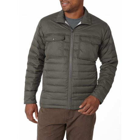 Royal Robbins Batten Down Jacket - 650 Fill Power (For Men) in Charcoal