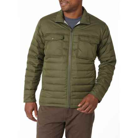 Royal Robbins Batten Down Jacket - 650 Fill Power (For Men) in Dark Olive - Closeouts