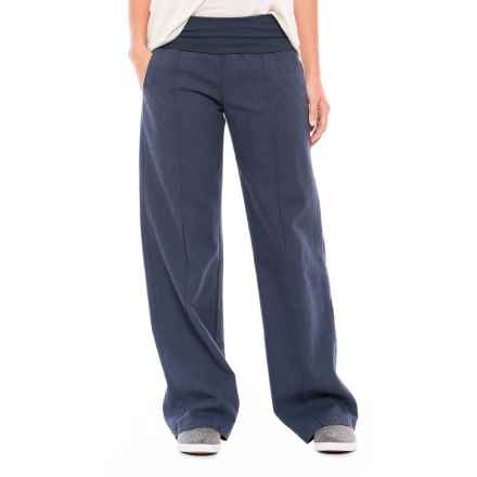 Royal Robbins Bay Breeze Pants (For Women) in Navy - Closeouts