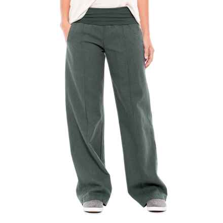 Royal Robbins Bay Breeze Pants (For Women) in Obsidian - Closeouts