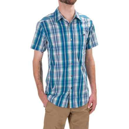 Royal Robbins Bayou Shirt - Short Sleeve (For Men) in Dark Aqua - Closeouts
