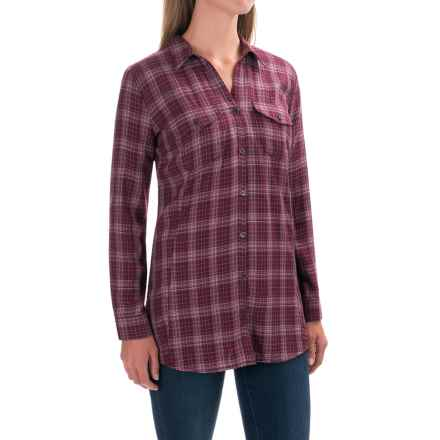 Royal Robbins Beechwood Plaid Shirt - UPF 50+, Long Sleeve (For Women) in Beet - Closeouts