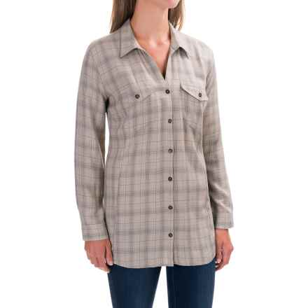 Royal Robbins Beechwood Plaid Shirt - UPF 50+, Long Sleeve (For Women) in Sandstone - Closeouts