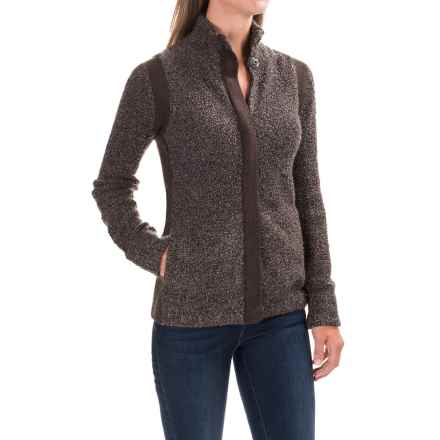 Royal Robbins Bella Boucle Cardigan Sweater - Zip Front (For Women) in Java - Closeouts