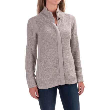 Royal Robbins Bella Boucle Cardigan Sweater - Zip Front (For Women) in Sandstone - Closeouts