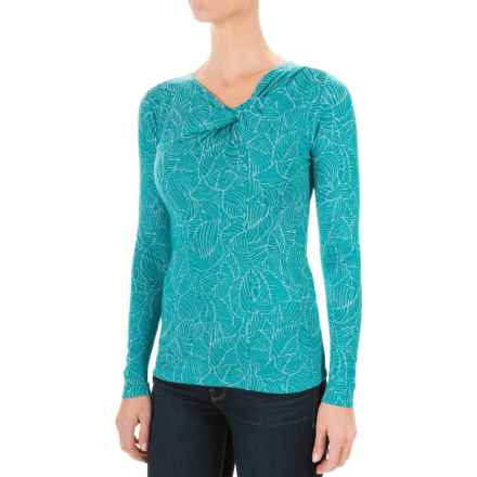 Royal Robbins Belle Epoque Shirt - UPF 50+, Long Sleeve (For Women) in Cosmic Blue - Closeouts