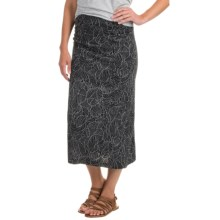 Royal Robbins Belle Epoque Skirt - UPF 50+ (For Women) in Jet Black - Closeouts