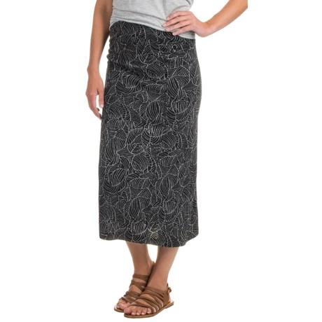 Royal Robbins Belle Epoque Skirt - UPF 50+ (For Women) in Jet Black