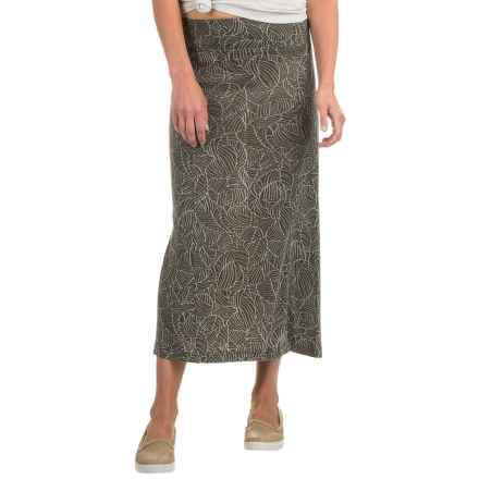 Royal Robbins Belle Epoque Skirt - UPF 50+ (For Women) in Light Olive - Closeouts