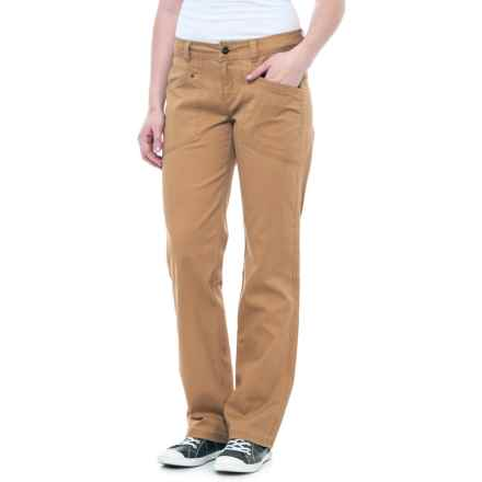 Royal Robbins Billy Goat® Bedford Corduroy Pants - UPF 50+ (For Women) in Brown Sugar - Closeouts
