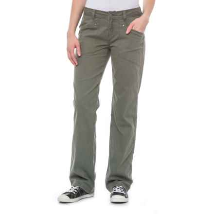 Royal Robbins Billy Goat® Bedford Corduroy Pants - UPF 50+ (For Women) in Climbing Ivy - Closeouts