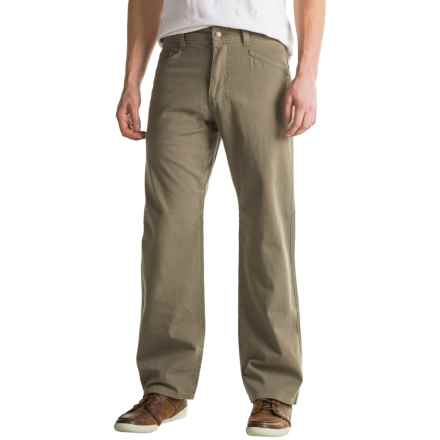 Royal Robbins Billy Goat® Canvas Pants - UPF 50+, 5-Pocket (For Men) in Everglade - Closeouts