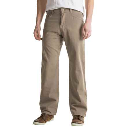 Royal Robbins Billy Goat® Canvas Pants - UPF 50+, 5-Pocket (For Men) in Khaki - Closeouts