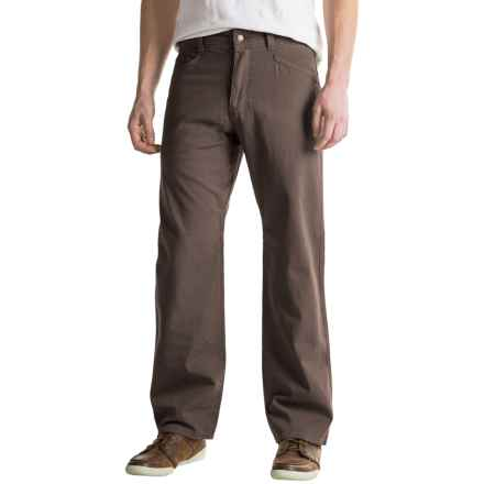 Royal Robbins Billy Goat® Canvas Pants - UPF 50+, 5-Pocket (For Men) in Turkish Coffee - Closeouts