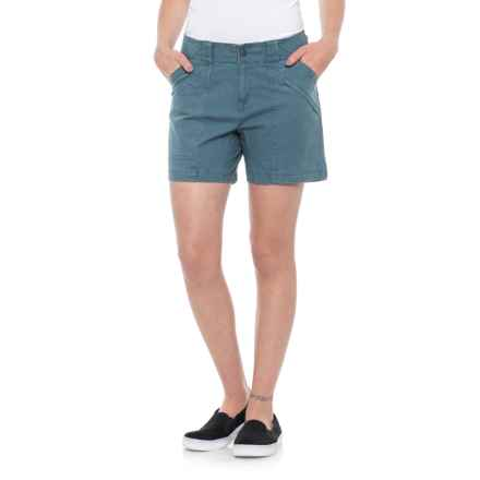 Royal Robbins Billy Goat Shorts - UPF 50+ (For Women) in Lagoon - Closeouts