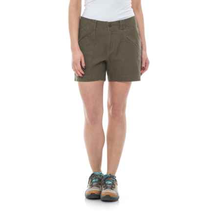 Royal Robbins Billy Goat Shorts - UPF 50+ (For Women) in Light Olive - Closeouts
