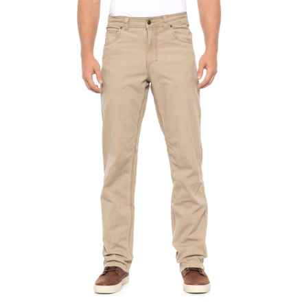 Royal Robbins Billy Goat Stretch Boulder Pants - UPF 50+, Organic Cotton (For Men) in Khaki - Closeouts