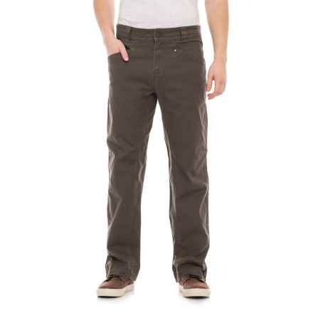 Royal Robbins Billy Goat® Stretch Pants - UPF 50+, 6-Pocket (For Men) in Turkish Coff - Closeouts