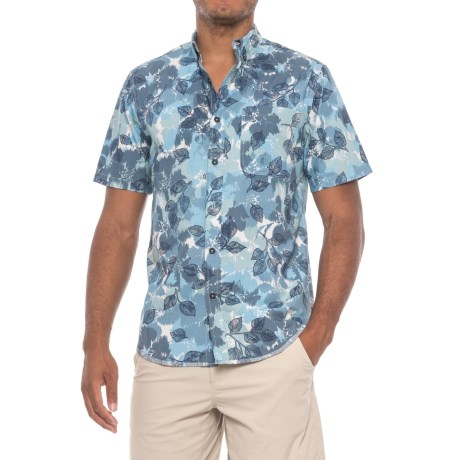 Royal Robbins Birch Leaf Shirt - Short Sleeve (For Men) in Bluejay