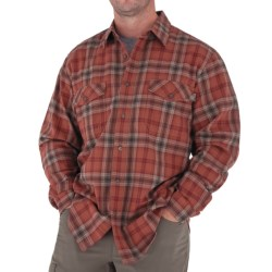 Royal Robbins Blackrock Plaid Shirt - Long Sleeve (For Men) in Blaze