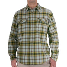 Royal Robbins Blackrock Plaid Shirt - Long Sleeve (For Men) in Limestone - Closeouts