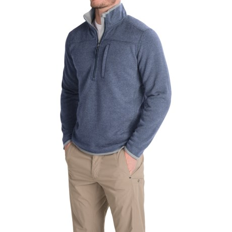 Royal Robbins Blue Ridge Fleece Pullover Jacket UPF 50+, Zip Neck (For Men)