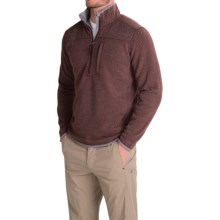 Royal Robbins Blue Ridge Fleece Pullover Jacket - UPF 50+, Zip Neck (For Men) in Merlot - Closeouts