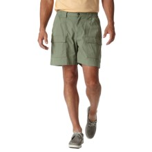 Royal Robbins Blue Water Shorts - UPF 40+ (For Men) in Canteen Green - Closeouts
