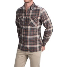 Royal Robbins Boulder Plaid Shirt - UPF 50+, Long Sleeve (For Men) in Eclipse - Closeouts