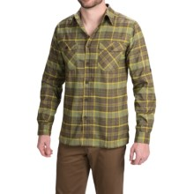 Royal Robbins Boulder Plaid Shirt - UPF 50+, Long Sleeve (For Men) in Mangrove Green - Closeouts