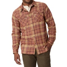 Royal Robbins Boulder Plaid Shirt - UPF 50+, Long Sleeve (For Men) in Merlot - Closeouts
