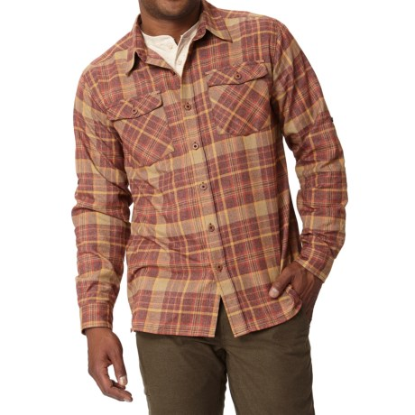 Royal Robbins Boulder Plaid Shirt UPF 50+, Long Sleeve (For Men)